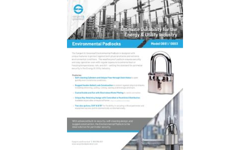 Environmental Padlock - Utilities