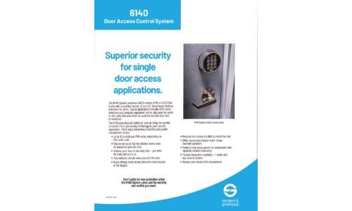 Model 6140 Sell Sheet
