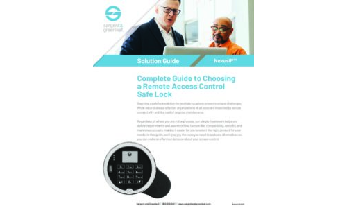 NexusIP Complete Guide to Choosing a Networked Connected Lock