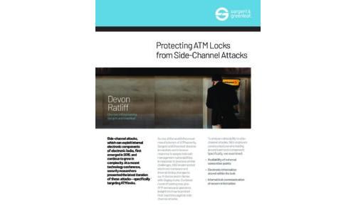 SG ATM Lock Security White Paper