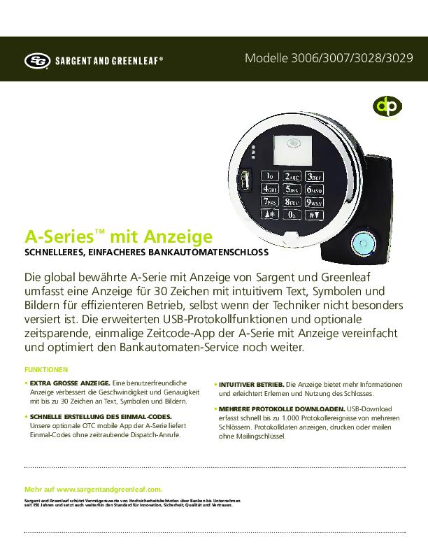 ASWD Sell Sheet - GERMAN